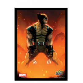 Marvel Card Sleeves - Wolverine (65 Sleeves)
