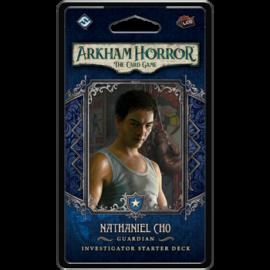 FFG - Arkham Horror LCG: Nathaniel Cho Investigator Starter Deck - EN