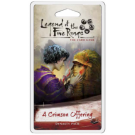 FFG - Legend of the Five Rings LCG: A Crimson Offering Dynasty Pack - EN