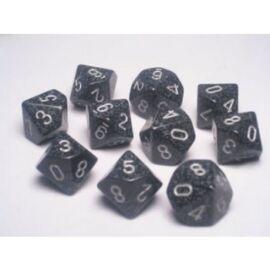 Chessex Speckled Polyhedral Ten d10 Set - Ninja