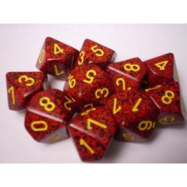 Chessex Speckled Polyhedral Ten d10 Set - Mercury