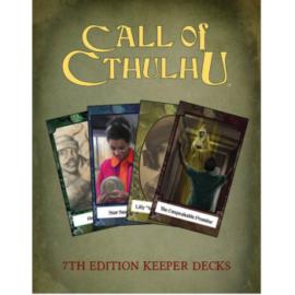 Call of Cthulhu RPG - Call of Cthulhu Keeper Decks - EN