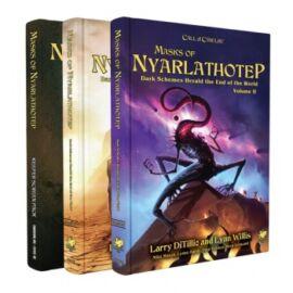 Call of Cthulhu RPG - Masks of Nyarlathotep - Slipcase Set - EN