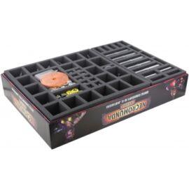 Feldherr foam tray set for Necromunda: Underhive - board game box