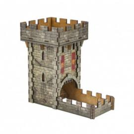 Medieval Color Dice Tower