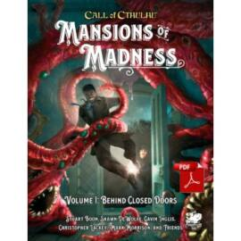 Call of Cthulhu RPG - Mansions of Madness Vol.I Behind Closed Doors - EN