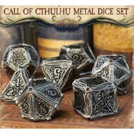 Metal Call of Cthulhu Dice Set (7)