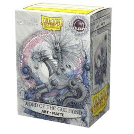 Dragon Shield Matte Art Sleeves - Word of the God Hand (100 Sleeves)
