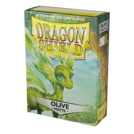 Dragon Shield Standard Matte Sleeves - Olive (60 Sleeves)