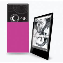 UP - Standard Sleeves - Gloss Eclipse - Hot Pink (100 Sleeves)