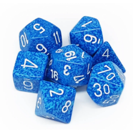 Chessex Speckled Polyhedral 7-Die Set - Water