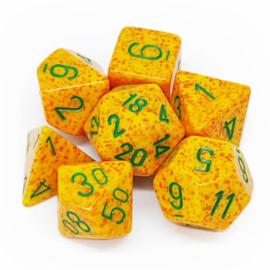 Chessex Speckled Polyhedral 7-Die Set - Lotus
