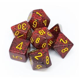Chessex Speckled Polyhedral 7-Die Set - Mercury