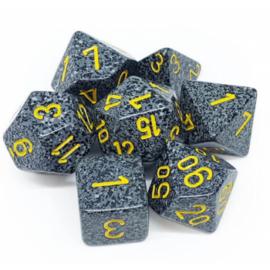 Chessex Speckled Polyhedral 7-Die Set - Urban Camo