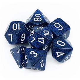 Chessex Speckled Polyhedral 7-Die Set - Stealth