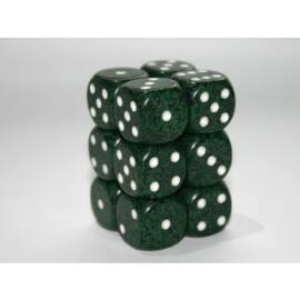 Chessex Speckled 16mm d6 with pips Dice Blocks (12 Dice) - Recon