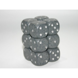 Chessex Speckled 16mm d6 with pips Dice Blocks (12 Dice) - Hi- Tech
