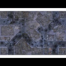 Kraken Wargames Gaming Mat - Warzone City 6x4 Gaming Mat 2.0
