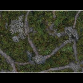 "Kraken Wargames Gaming Mat - Ancient Green 30x22"" Kill Team and Warcry 2.0"""