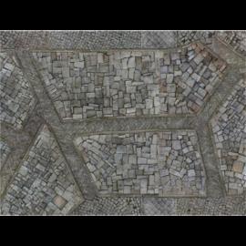 "Kraken Wargames Gaming Mat - Cobblestone City 30x22"" Kill Team and Warcry 2.0"""