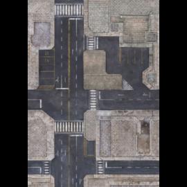 Kraken Wargames Gaming Mat - Urban Zone 6x4 Gaming Mat