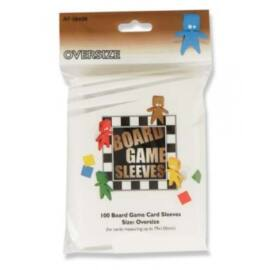 Board Games Sleeves - Oversized (82x124mm) - 100 Pcs