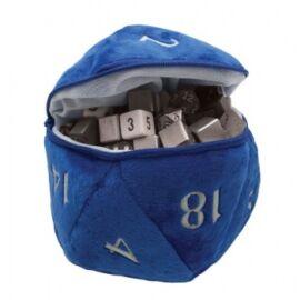 UP - D20 Plush Dice Bag - Blue