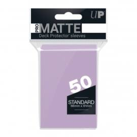 UP - Standard Sleeves - Pro-Matte - Non Glare - Lilac (50 Sleeves)
