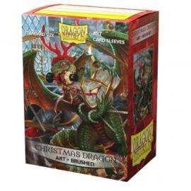 Dragon Shield Brushed Art Sleeves - Christmas Dragon 2020 (100 Sleeves)