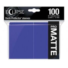UP - Eclipse Matte Standard Sleeves: Royal Purple (100 Sleeves)