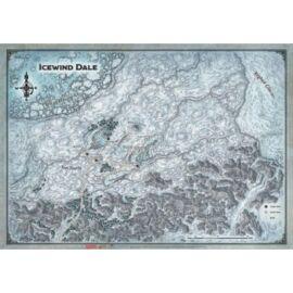 "D&D Icewind Dale: Icewind Dale - Map (31x21"")"""