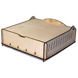 e-Raptor Trading Card Storage Big Box - Wooden