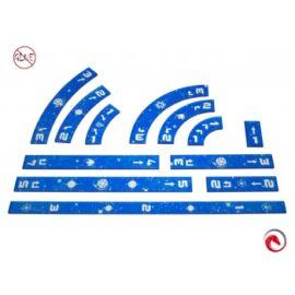 e-Raptor Rulers Set SWX Blue