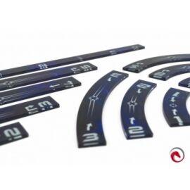 e-Raptor Rulers Set SWX Blue Upgraded