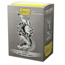 Dragon Shield Matte Art Sleeves - Loki (100 Sleeves)
