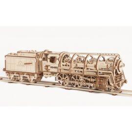 Ugears - Steam Locomotive with Tender
