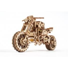 Ugears - Scrambler UGR-10 with Sidecar