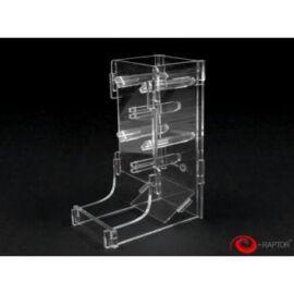 e-Raptor Dice Tower Cuboid Transparent