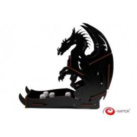 e-Raptor Dice Tower Dragon Black