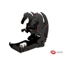 e-Raptor Dice Tower Dragon Black Small
