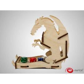 e-Raptor Dice Tower Dragon Wooden Small