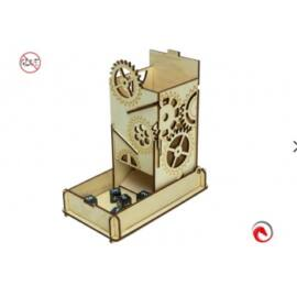 e-Raptor Dice Tower Steam Punk Box
