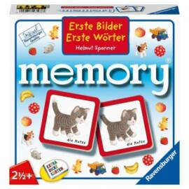 Erste Bilder-Erste Wörter memory - DE