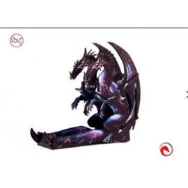 e-Raptor Dice Tower Dragon Black UV Overprint