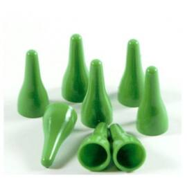 e-Raptor quality plastic pawns - green