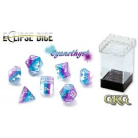 Eclipse Dice Cyanethyst (7 Dice Set)