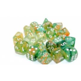 Chessex Tens d10 Sets - Nebula TM Spring/white Luminary Set of Ten d10's