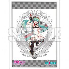 Bushiroad Sleeve Collection Extra Vol.348 [Racing Miku 2020 Ver.] Key Visual & Emblem (60 Sleeves)