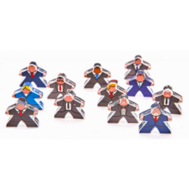 e-Raptor Meeples Political intrigues