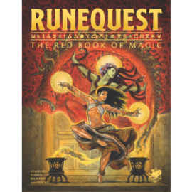 RuneQuest - The Red Book of Magic - EN